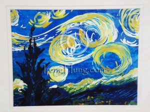 My starry night 1